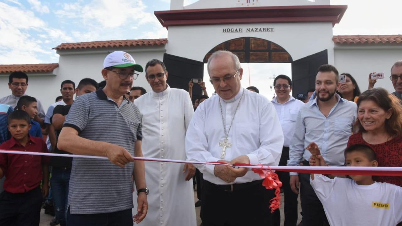 Inauguran Hogar Nazareth en Bellavista